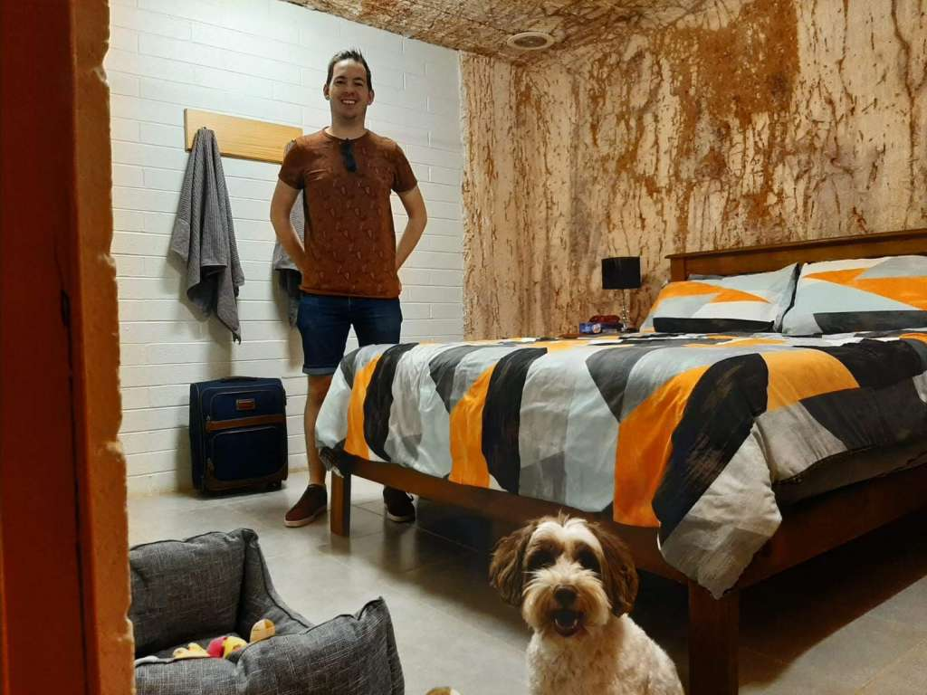 Our bedroom - where dogs are allowed