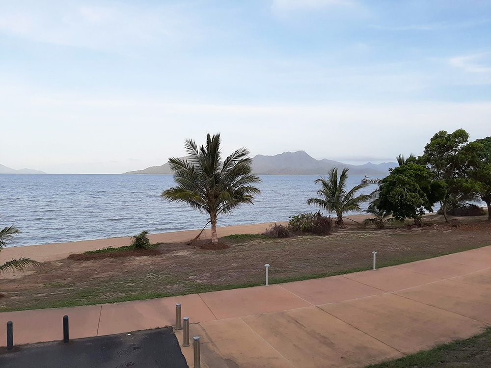View from Cardwell Beachfront Motel