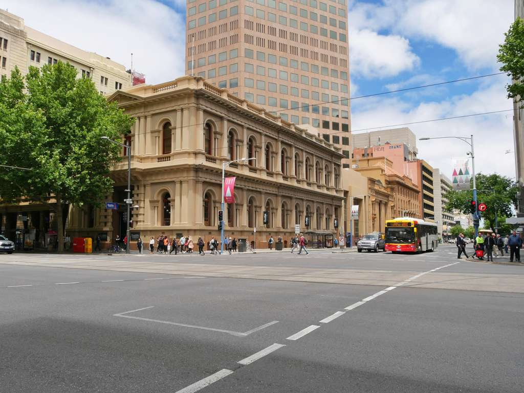 The city centre
