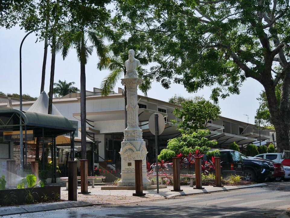 Main street in Port Douglas