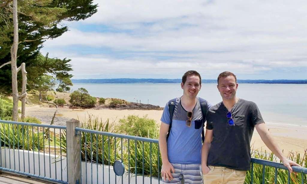 Enjoying the coastlines of Phillip Island