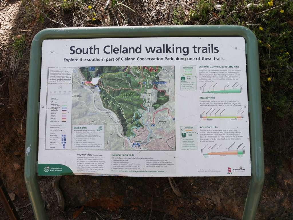 South Cleland walking trails