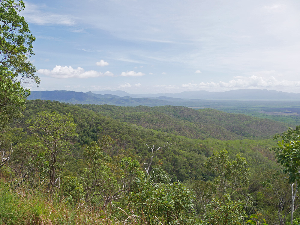 Another beautiful view on our way to Wallaman Falls