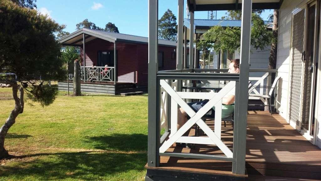 Our villa at Eden Gateway Holiday Park